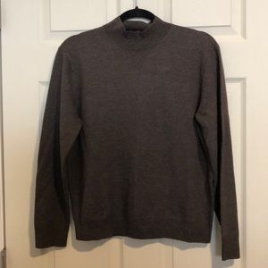 Black Brown 1826 Extra fine Merino Wool Sweater